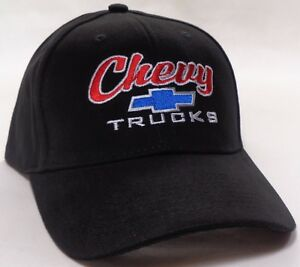 Hat Cap Licensed Chevrolet Chevy Truck Trucks Black HR 122