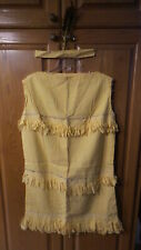Vintage Costume INDIAN MAIDEN Hand-Made, 1960's Vintage, Beads, Head Dress