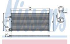 NISSENS Condensador, aire acondicionado FORD TRANSIT TOURNEO 94664