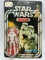 1977 KENNER STAR WARS Stormtrooper FIGURE 12 BACK  MOC NEW