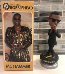 2011 MC HAMMER SPINNING BOBBLEHEAD OAKLAND ATHLETICS A'S SGA NIB LE