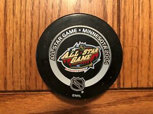 2004 Official NHL All Star Game Puck - Minnesota Wild