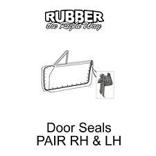 1965 1966 1967 1968 Ford Galaxie / LTD Door Seals - 2 dr HT / Conv't