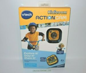 Vtech Kidizoom Action Cam Color LCD 2.5 Hours Recording Time MODEL 80-170700 NEW