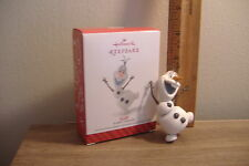 ~OLAF~DISNEY FROZEN~2014 HALLMARK ORNAMENT~SOLD OUT IN STORES~