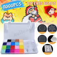 11000Pcs 20 Colors 2.6mm Refill Water Fuse Beads DIY Art Craft Toys Kids Gifts