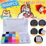 11000Pcs 20 Colors 2.6mm Aqua Refill Water Fuse Beads Art Craft Toys Kids Gifts