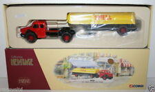 CORGI 1/50 COLLECTION HERITAGE 73701 BERLIET GLR AVEC SEMI-CITERNE - SHELL