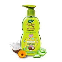 Dabur Baby Wash Contains Aloe Vera & Calendula 500 ml