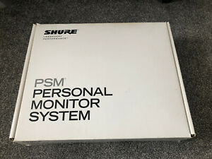 Shure PSM300 Personal Monitoring System And shure SBC 100-e Battery Charger