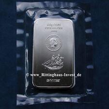 Lingotti d'argento Monete bullion 100 Grammi 100g Cook Isole 2015 5$ SMI