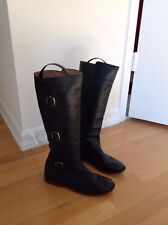 FRYE Brown Leather Riding Boots Woman's Size 6 B Style 77066