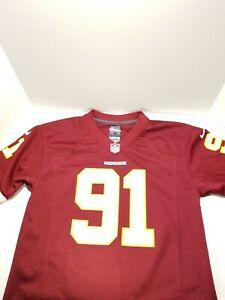 Men's Nike On Field Washington Redskins Medium Jersey 91 Ryan Kerrigan Size M