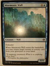 x4 Mnemonic Wall MTG Iconic Masters C M//NM English
