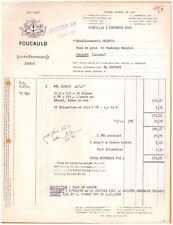 """COGNAC (16) ALCOOL / COGNAC """"Lucien FOUCAULD"""" 1960"""