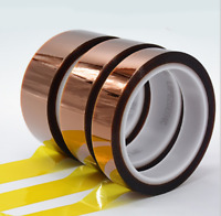 25mm 2cm X 30M 100ft Kapton Tape High Temperature Heat Resistant Polyimide