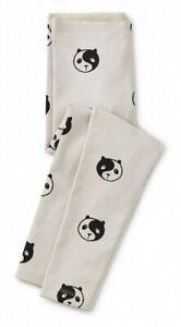 TEA COLLECTION  Yin Yang Panda Leggings  - Vapor  - NWT Girls 6