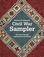 Civil War Sampler by Barbara Brackman 50 Quilt Blocks with Stories from History