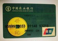 Agricultural Bank Of China Mastercard Maestro Credit Card Bank Card EXPIRED