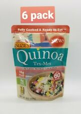 Suzie's Quinoa Ready-to-Eat & Fully Cooked Tex-Mex, 8 Ounce PACK OF 6