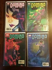 Domino #1 - 4 MARVEL Comic Book Complete Limited Series / Set 2003 NM X-MEN