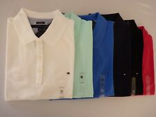 New Tommy Hilfiger Classic Fit Polo Shirt For Women XS  S  M  L