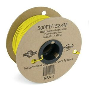 Petsafe In-Ground Dog Containment Fence 20 Gauge Solid Boundary Wire 500' RFA-1
