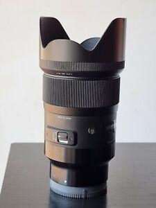 Sigma 35mm f/1.4 DG HSM Lens for Sony FE Full Frame E-mount