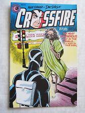 Eclipse Comics CROSSFIRE #15 - Mark Evanier & Dan Spiegle