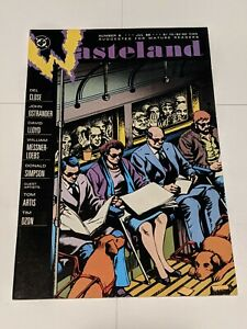 Wasteland #8 July 1988 DC Comics