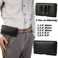 Belt Pouch Clip Hip Loop Case for Mobile iPhone Cover PU Leather Wallet Samsung