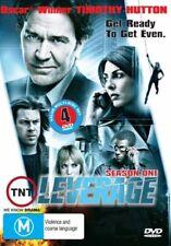 Leverage Season 1 Timothy Hutton 4-Disc Set  DVD Region Free