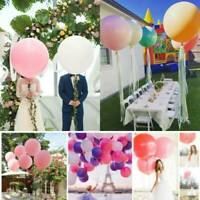 36'' Giant Big Size Large Latex Balloon Helium Wedding Birthday Party Decor Hot