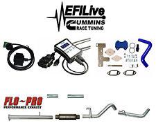 EFI Live Tuner 13-17 Dodge Ram 6.7 for Cummins DPF EGR DEF Delete CSP4 Muffler 4