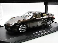 Norev 187622 - 2010 Porsche 911 Turbo - brown metallic - 1/18 - Metall-Modell
