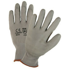 West Chester Protective Gear 713Sucg/L Palm Coated Gloves,Gray,L,Pk12