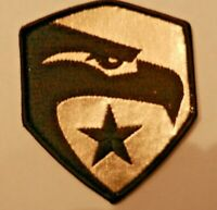 """G.I. Joe """"Rise of the Cobra"""" Logo Embroidered Patch -new"""