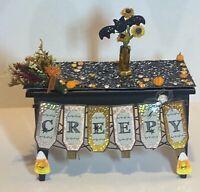 NEW OOAK Dollhouse Miniature 1:12 Artisan Halloween Fall Table Food Decor 003