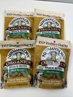 Newmans Own Organics Snack Bites Beef Recipe LOT of 4 Bags 4.5 oz 2022 Dog Treat