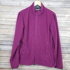 Mountain Hardwear Agama Fleece Full Zip Jacket Purple Womens Size Large