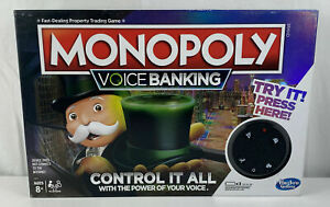 Monopoly Electronic Voice Banking Edition Board Game * Mel Stock Free Postage *