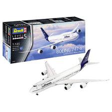 "REVELL Boeing 747-8 Lufthansa ""New Livery"" 1:144 Aircraft Model Kit 03891"