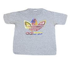 Vintage 1990s Adidas Graffiti Leaf Logo Graphic Single Stitch T Shirt Size Large