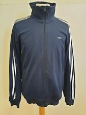 GG901 MENS ADIDAS ORIGINALS BLUE WHITE FULL ZIP TRACKSUIT JACKET UK L EU 52