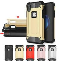 For iPhone X / iPhone XS Slim Armor Metal Shockproof Thick Hybrid Case Cover