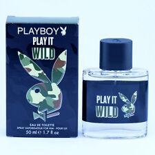 Playboy Play it Wild for HIM / MAN EdT 50 ml Eau de Toilette