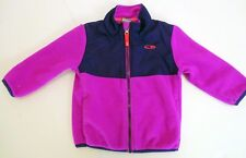 Champion Full Zip Fleece Jacket, Purple Girls Size 18 MO