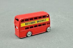 Matchbox Orignals Series A Moko Lesney No 5 Red London Bus
