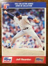 1992 Jeff Reardon Diet Pepsi Series - #8 Of 30 - Montreal Expos (CDN Version)