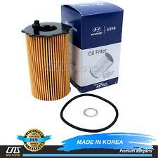 GENUINE Oil Filter for 10-18 Azera Santa Fe Cadenza Sedona Sorento 263203CAA0